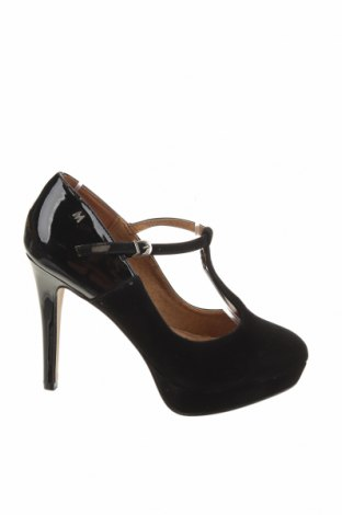 Γυναικεία παπούτσια Maria Mare, Μέγεθος 37, Χρώμα Μαύρο, Κλωστοϋφαντουργικά προϊόντα, Τιμή 23,97€