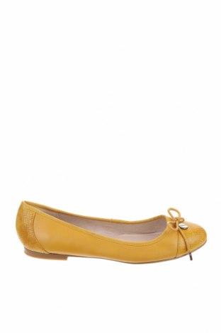 Дамски обувки Mimco, Размер 36, Цвят Жълт, Естествена кожа, Цена 59,80лв.