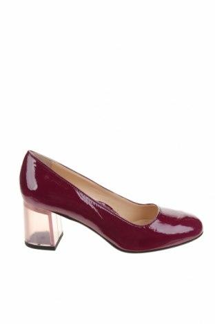 Дамски обувки Miss L Fire, Размер 37, Цвят Лилав, Естествена кожа, Цена 78,12лв.