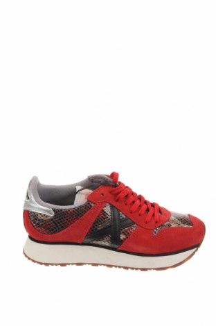 Γυναικεία παπούτσια Munich, Μέγεθος 35, Χρώμα Κόκκινο, Φυσικό σουέτ, δερματίνη, Τιμή 46,01€