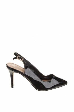 Дамски обувки Nova, Размер 38, Цвят Черен, Еко кожа, Цена 20,58лв.