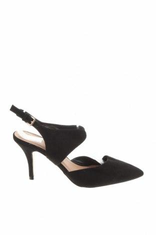 Дамски обувки Novo, Размер 38, Цвят Черен, Текстил, Цена 17,64лв.