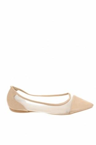Дамски обувки Novo, Размер 40, Цвят Бежов, Еко кожа, текстил, Цена 33,02лв.