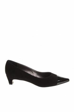 Дамски обувки Oxitaly, Размер 36, Цвят Черен, Естествен велур, естествена кожа, Цена 41,22лв.