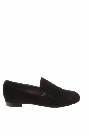 Дамски обувки Oxitaly, Размер 36, Цвят Черен, Естествен велур, Цена 62,70лв.