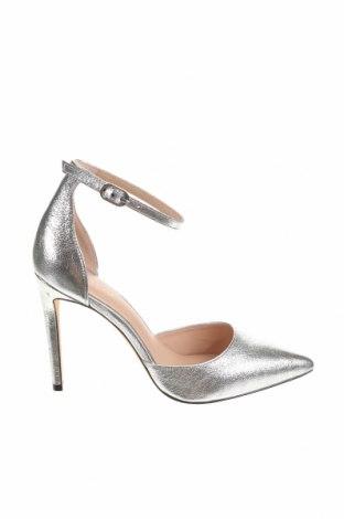 Γυναικεία παπούτσια Rachel Zoé, Μέγεθος 39, Χρώμα Γκρί, Γνήσιο δέρμα, Τιμή 27,58€