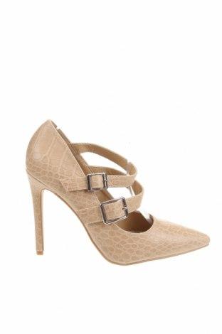 Дамски обувки Raid, Размер 38, Цвят Бежов, Еко кожа, Цена 34,10лв.