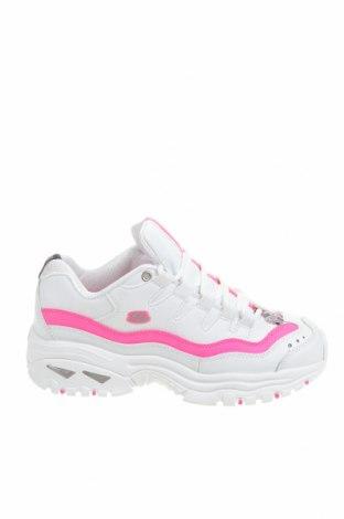 Дамски обувки Skechers, Размер 39, Цвят Бял, Еко кожа, Цена 80,62лв.