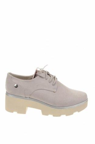 Дамски обувки Xti, Размер 38, Цвят Сив, Текстил, Цена 51,75лв.