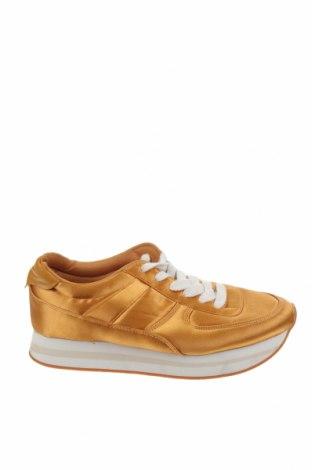 Γυναικεία παπούτσια Zara, Μέγεθος 38, Χρώμα Κίτρινο, Κλωστοϋφαντουργικά προϊόντα, Τιμή 24,68€