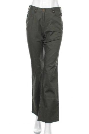 Дамски панталон 4/5/6 Fashion Concept, Размер S, Цвят Зелен, 98% памук, 2% еластан, Цена 6,30лв.