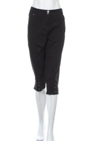 Dámské kalhoty , Velikost XXL, Barva Černá, 97% bavlna, 3% elastan, Cena  333,00Kč