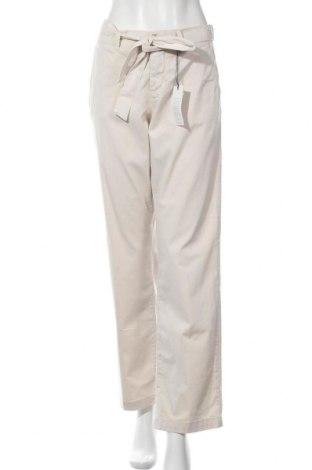 Дамски панталон Angels, Размер L, Цвят Бежов, 96% памук, 4% еластан, Цена 19,44лв.