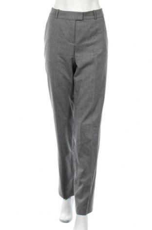 Дамски панталон Boss, Размер M, Цвят Сив, 99% вълна, 1% еластан, Цена 40,64лв.