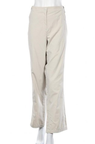 Дамски панталон Brandtex, Размер XXL, Цвят Бежов, 62% полиестер, 38% памук, Цена 12,86лв.