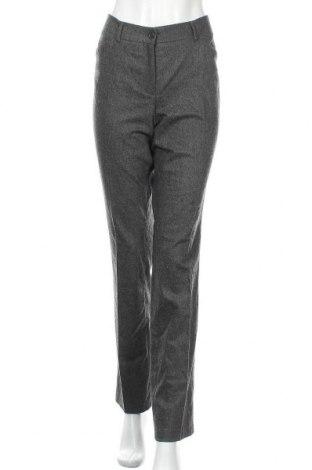 Дамски панталон Cambio, Размер M, Цвят Сив, 98% вълна, 2% еластан, Цена 25,20лв.
