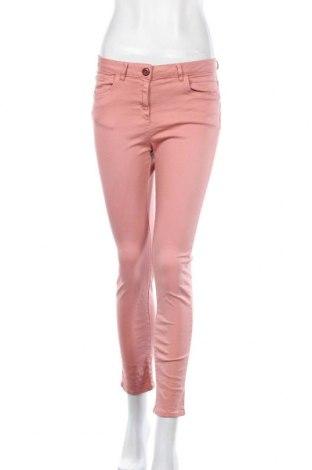 Дамски панталон Caroll, Размер M, Цвят Розов, 89% памук, 8% полиестер, 3% еластан, Цена 9,15лв.