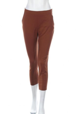 Дамски панталон David Lawrence, Размер S, Цвят Кафяв, 54% памук, 43% полиамид, 3% еластан, Цена 11,97лв.