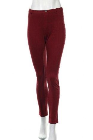 Дамски панталон Essentials by Tchibo, Размер M, Цвят Червен, 58% памук, 32% полиестер, 10% еластан, Цена 18,74лв.