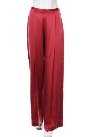 Γυναικείο παντελόνι Intropia, Μέγεθος S, Χρώμα Κόκκινο, Μετάξι, Τιμή 71,12€