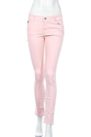 Дамски панталон Lois, Размер M, Цвят Розов, 70% памук, 28% полиестер, 2% еластан, Цена 31,15лв.