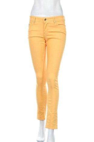 Дамски панталон Lois, Размер M, Цвят Жълт, 70% памук, 28% полиестер, 2% еластан, Цена 31,15лв.