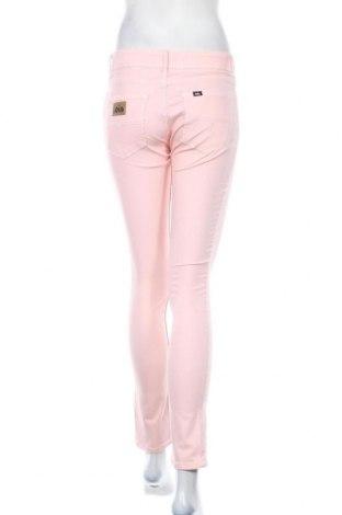 Дамски панталон Lois, Размер M, Цвят Розов, 70% памук, 28% полиестер, 2% еластан, Цена 16,75лв.