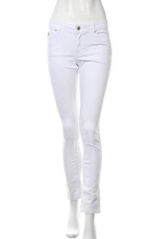 Дамски панталон Lois, Размер M, Цвят Бял, 70% памук, 28% полиестер, 2% еластан, Цена 22,25лв.