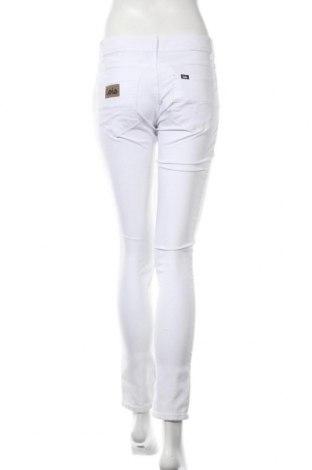 Дамски панталон Lois, Размер M, Цвят Бял, 70% памук, 28% полиестер, 2% еластан, Цена 17,37лв.