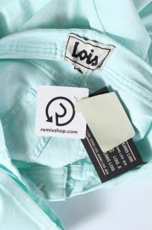 Дамски панталон Lois, Размер M, Цвят Син, 70% памук, 28% полиестер, 2% еластан, Цена 16,28лв.