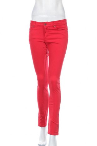 Дамски панталон Lois, Размер M, Цвят Червен, 97% памук, 3% еластан, Цена 31,15лв.