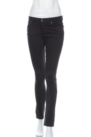 Дамски панталон Lois, Размер M, Цвят Черен, 97% памук, 3% еластан, Цена 31,15лв.
