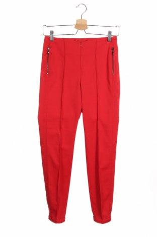 Dámské kalhoty  Madeleine, Velikost XS, Barva Červená, 51% bavlna, 45% polyester, 4% elastan, Cena  679,00Kč