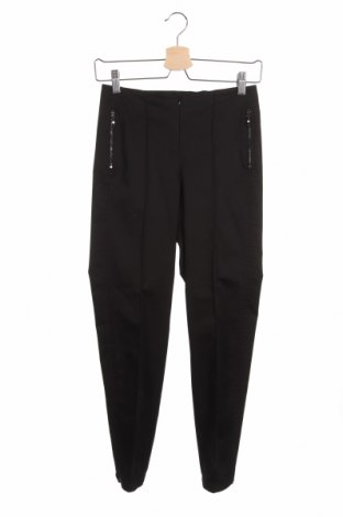 Дамски панталон Madeleine, Размер XS, Цвят Черен, 51% памук, 45% полиестер, 4% еластан, Цена 16,52лв.