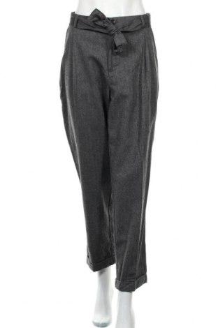 Дамски панталон Maison Scotch, Размер L, Цвят Сив, Вълна, Цена 134,25лв.