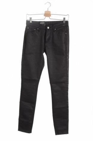 Дамски панталон Mtwtfss Weekday, Размер S, Цвят Сив, 70% памук, 28% полиестер, 2% еластан, Цена 40,05лв.