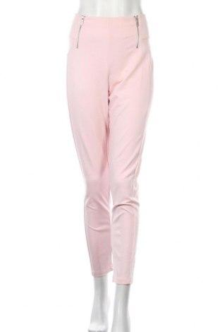 Дамски панталон My Own, Размер XL, Цвят Розов, 70% вискоза, 25% полиамид, 5% еластан, Цена 22,94лв.