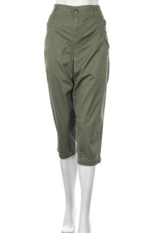 Дамски панталон Style & Co, Размер XL, Цвят Зелен, 98% памук, 2% еластан, Цена 12,60лв.