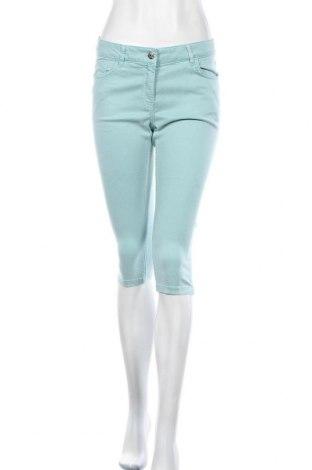 Дамски панталон Zero, Размер M, Цвят Син, 67% памук, 30% лиосел, 3% еластан, Цена 14,22лв.