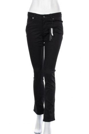 Дамски панталон Zero, Размер M, Цвят Черен, 66% памук, 31% полиестер, 3% еластан, Цена 8,26лв.