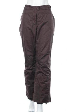 Дамски панталон за зимни спортове Alpinetek, Размер XL, Цвят Кафяв, Полиестер, Цена 15,26лв.