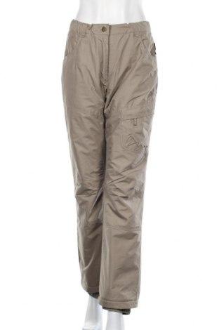 Дамски панталон за зимни спортове Crane, Размер M, Цвят Бежов, Полиестер, Цена 13,83лв.