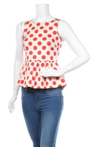 Tricou de damă ASOS, Mărime S, Culoare Ecru, 97% bumbac, 3% elastan, Preț 28,19 Lei