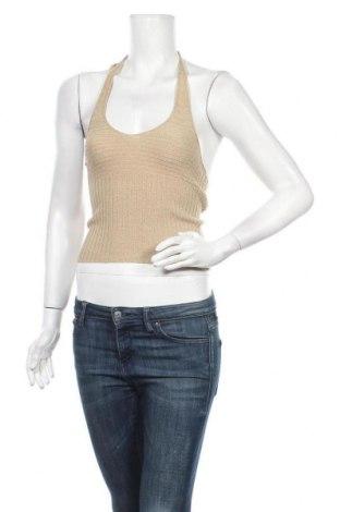 Дамски потник Bardot, Размер XS, Цвят Бежов, 85% акрил, 13% полиестер, 2% еластан, Цена 3,00лв.