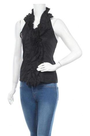 Γυναικείο αμάνικο μπλουζάκι Be You, Μέγεθος S, Χρώμα Μαύρο, 97% βαμβάκι, 3% ελαστάνη, Τιμή 6,14€