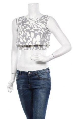 Γυναικείο αμάνικο μπλουζάκι Keepsake, Μέγεθος S, Χρώμα Γκρί, 96% πολυεστέρας, 4% ελαστάνη, Τιμή 13,41€