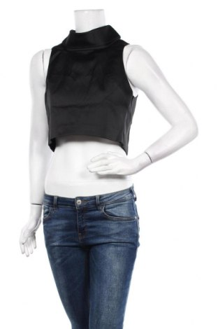 Γυναικείο αμάνικο μπλουζάκι Keepsake, Μέγεθος S, Χρώμα Μαύρο, Πολυεστέρας, Τιμή 11,82€