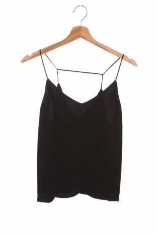 Γυναικείο αμάνικο μπλουζάκι Samsoe & Samsoe, Μέγεθος XS, Χρώμα Μαύρο, Πολυεστέρας, Τιμή 15,31€