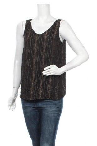 Γυναικείο αμάνικο μπλουζάκι Suzanne Grae, Μέγεθος M, Χρώμα Μαύρο, Πολυεστέρας, Τιμή 8,83€