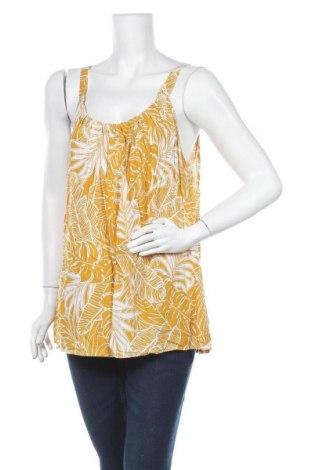 Γυναικείο αμάνικο μπλουζάκι Suzanne Grae, Μέγεθος XL, Χρώμα Κίτρινο, Βισκόζη, Τιμή 9,38€